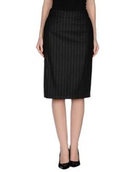Aquilano Rimondi Knee Length Skirts Steel Grey