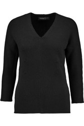 Pringle Of Scotland Ribbed Cashmere Sweater Black