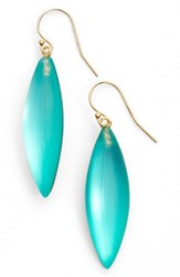 Women's Alexis Bittar 'Lucite Neo Bohemian' Small Sliver Earrings Aqua