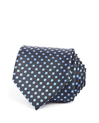Bloomingdale's The Men's Store At Halo Dot Classic Tie Royal Blue