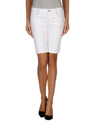 Guess By Marciano Denim Bermudas White