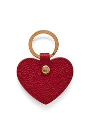 Mulberry Heart Keyring Scarlet