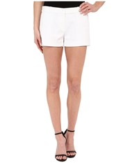 Michael Michael Kors Solid Mini Shorts White Women's Shorts