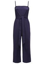 Louche Goldy Jumpsuit Navy Dark Blue