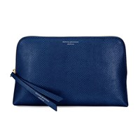 Aspinal Of London Essential Cosmetic Case Medium Midnight Blue