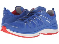 Lowa Innox Evo Blue Red Men's Shoes