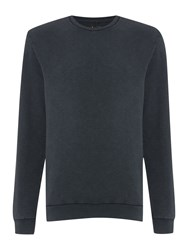 Label Lab Barford Zip Sweat Black Sienna