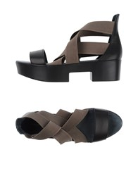 Fessura Footwear Sandals Women Black