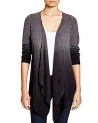 C By Bloomingdale's Dip Dye Open Cardigan