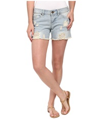 O'neill Around Town Sun Faded Wash Women's Shorts Blue