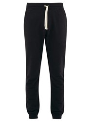 Reigning Champ Loopback Cotton Jersey Track Pants Black