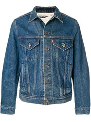 R 13 R13 Classic Denim Jacket Blue