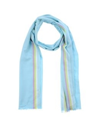 Roda Oblong Scarves Sky Blue