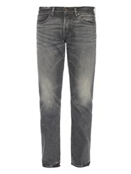 Simon Miller Raft 01 Slim Fit Jeans Grey