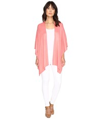 Echo Design Everyday Luxe Ruana Pink Guava Short Sleeve Pullover
