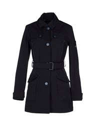 Piquadro Coats And Jackets Full Length Jackets Women Dark Blue