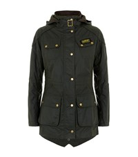 Barbour International Hawkstone Hooded Parka Female