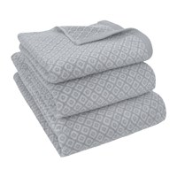Amara Gray Diamond Towel
