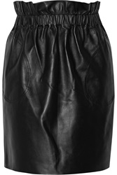 Adam By Adam Lippes Leather Mini Skirt