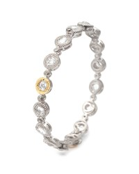 Opera Crystal And Diamond Bangle Bracelet Coomi