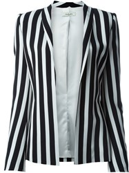 Thierry Mugler Mugler Striped Blazer Black