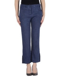 Sultan Casual Pants Slate Blue
