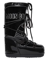 Moon Boot Darth Vader Print Waterproof Snow Boots