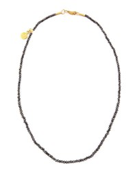 Gurhan Dark Mist Black Diamond Necklace 15 L