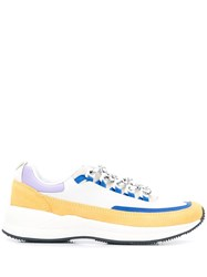 A.P.C. Jay Brain Dead Panelled Sneakers White