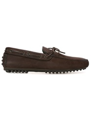 Car Shoe Fur Lined Driving Shoes Brown