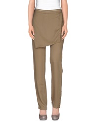 Gattinoni Casual Pants Sand