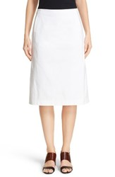 Lafayette 148 New York Women's Coralyn Catalina Stretch Cotton Skirt
