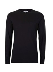 Selected Homme Black Long Sleeve T Shirt