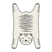 Podevache Big Cat Vinyl Placemat