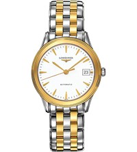 Longines L4.774.3.22.7 La Grande Classique Stainless Steel And Gold Plated Watch