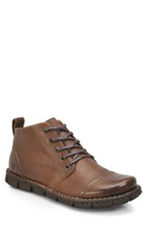 Born B Rn Boulder Cap Toe Boot Brown Leather