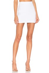 Susana Monaco Slim Skirt White