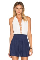 Ramy Brook Patricia Tank White