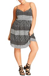 City Chic Plus Size Women's Bohem Sundress