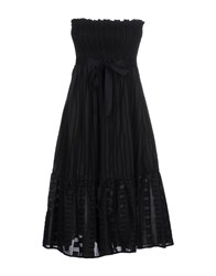 So Nice Dresses Knee Length Dresses Women Black