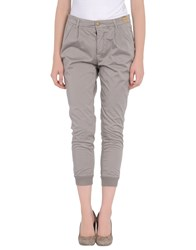 Monocrom Trousers Casual Trousers Women Grey