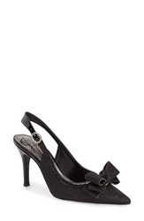 J. Renee 'Charise' Slingback Pump Women Black