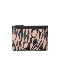 Missoni Small Leather Goods Pouches Women Pastel Pink