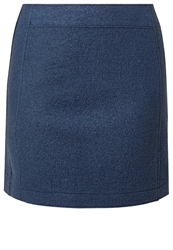 Marc O'polo Aline Skirt Dark Powder Blue Blue Grey