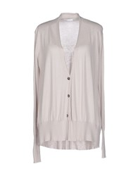 Marella Knitwear Cardigans Women Light Grey