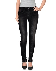 Byblos Denim Pants Black