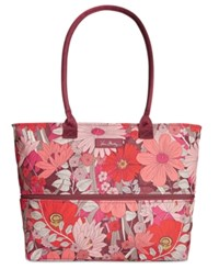 Vera Bradley Lighten Up Expandable Travel Tote Bohemian Blooms