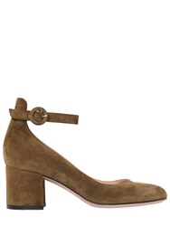 Gianvito Rossi 60Mm Mary Jane Suede Pumps