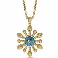 Lmj Sunny Side Up Pendant Gold