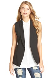 Stoosh Sleeveless Vest Black